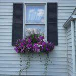 Window box on Vinyl Siding